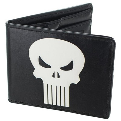 Unknown The Punisher Leather Bifold Wallet