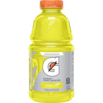 Gatorade Lemon Lime Sports Drink - 32 fl oz Bottle