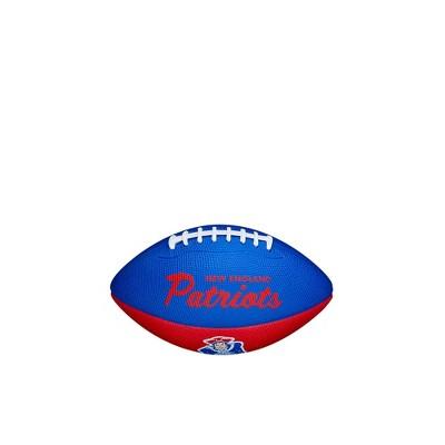 NFL New England Patriots Mini Retro Football