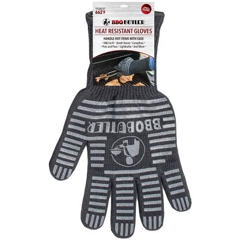 BBQ Butler Single Fabric Glove Black - image 1 of 1