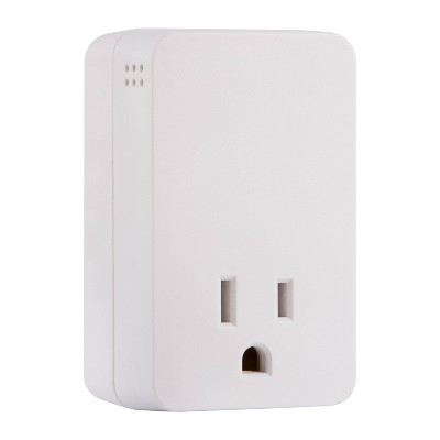 General Electric 1-Outlet Surge Tap 1080J Grounded Audible Alarm