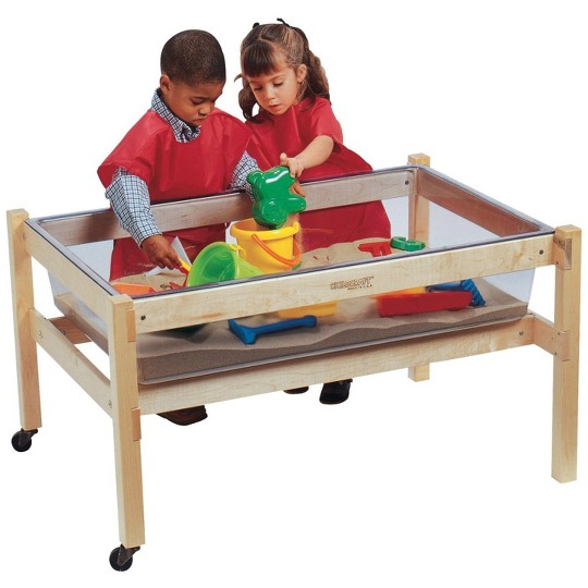 Buy Childcraft Sand And Water Table Replacement Tub Clear 40 1 4 X 26 5 8 X 9 1 8 Inches For Usd 233 18 Toys R Us