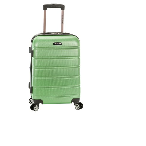 """Rockland Melbourne Expandable ABS Suitcase - Green (20"""") - image 1 of 1"""