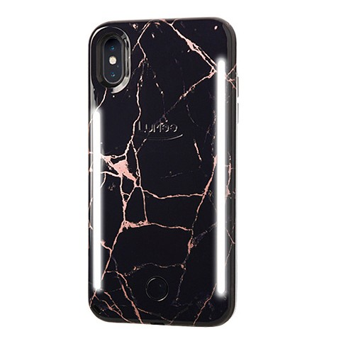 san francisco 75fbc 3948b LuMee Apple iPhone X/XS Duo Marble Case