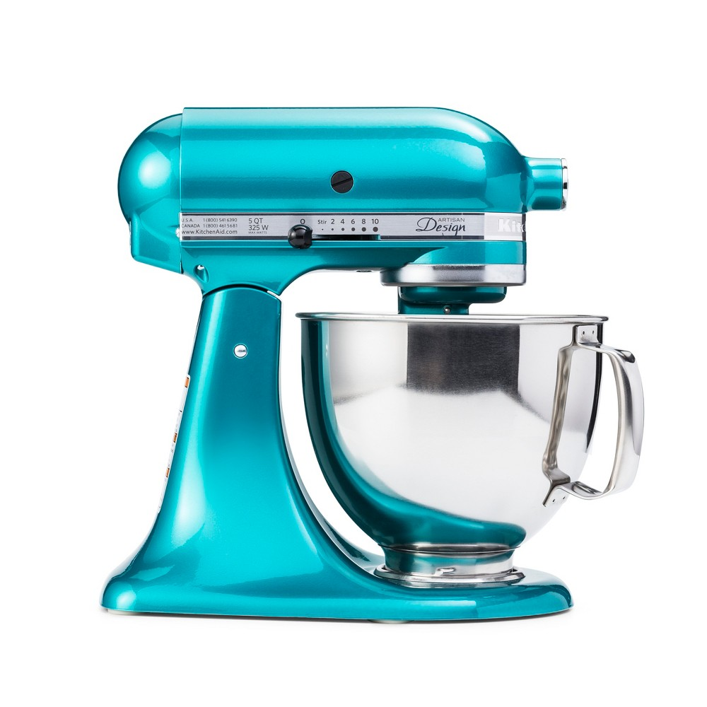 KitchenAid Refurbished 5qt Artisan Stand Mixer Sea Glass (Blue) – RRK150SA 53960955