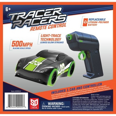 SKULLDUGGERY Tracer Racer RC Car and Controller - Green