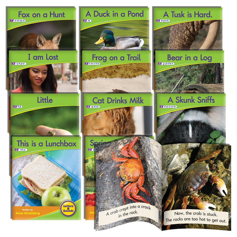 Image of Junior Learning Blend Readers - Non-Fiction Learning Set