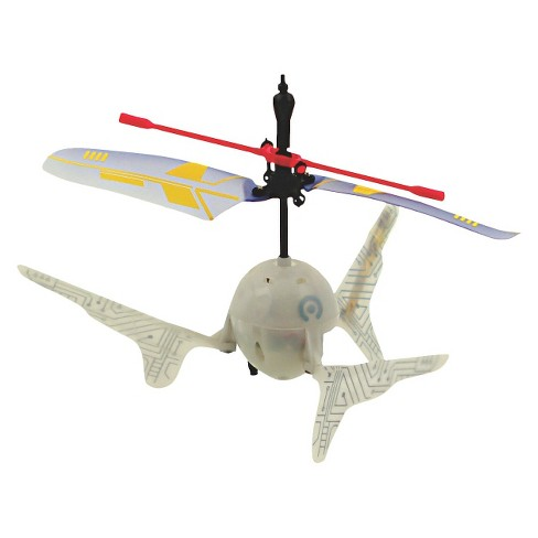 Orbits Sky Bot Infrared Rc Hovering Hand Flyer- White - image 1 of 3