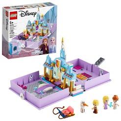 LEGO Disney Anna and Elsa's Storybook Adventures 43175 Princess Building Playset