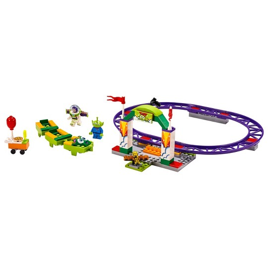 LEGO 4+ Disney Toy Story 4 Carnival Thrill Coaster 10771 image number null