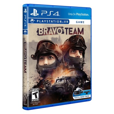 video games Bravo Team PSVR