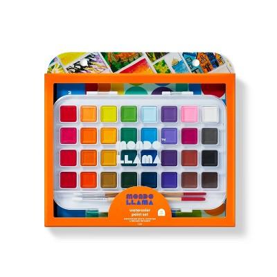 35pc Watercolor Paint Set - Mondo Llama™