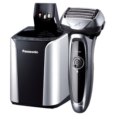 Panasonic ARC 5-Blade Advanced Men's Electric Shaver with Clean & Charge System ES-LV95-S