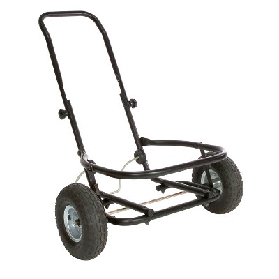 Miller Manufacturing Company CA500 Heavy Duty Multipurpose Muck Cart for 70 Quart Tubs, Black