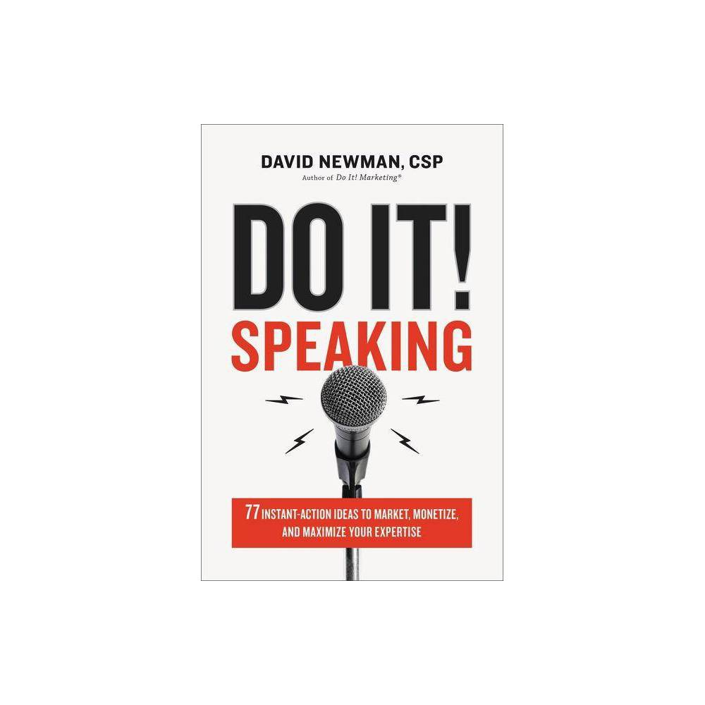 Do It Speaking By David Newman Hardcover