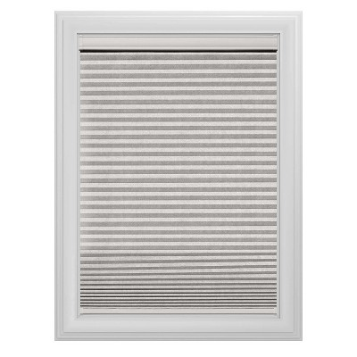Cordless Light Filtering Cellular Shade Slotted Window Blind White 27 x64  - Bali Essentials