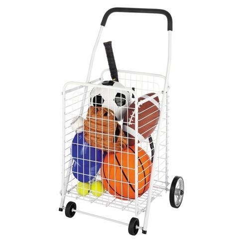 6d1a1f277d8c Whitmor Utility Shopping Cart - White