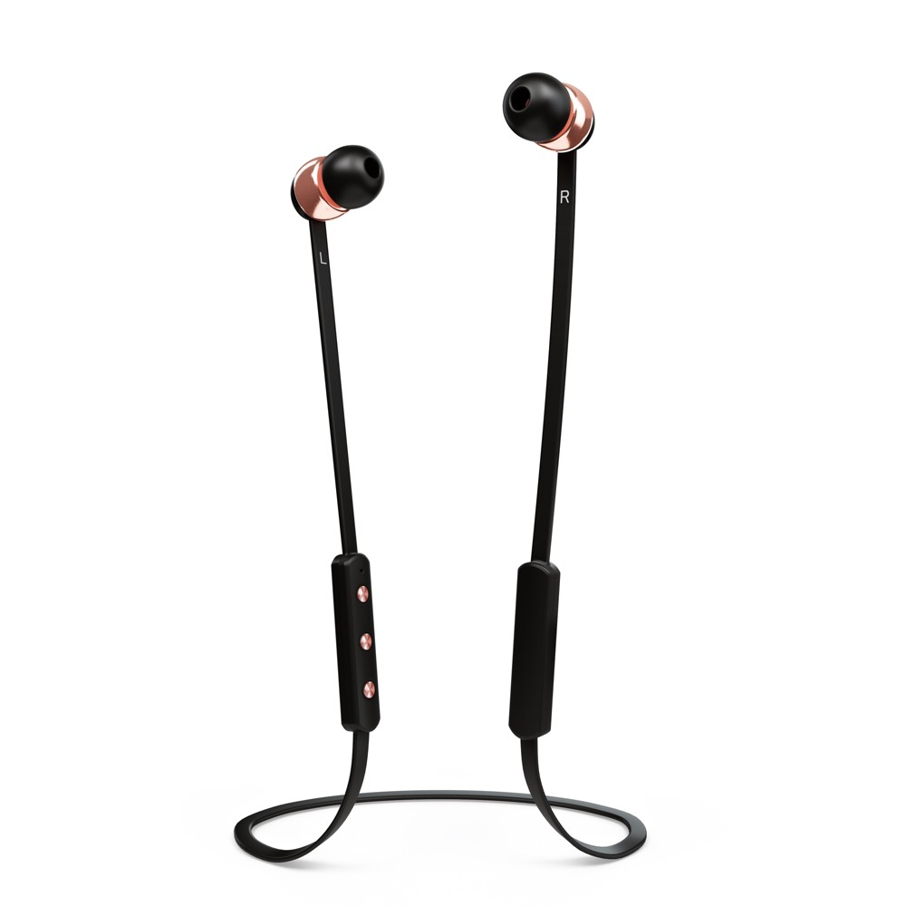 Sudio Vasa Bla Wireless Bluetooth In-Ear Headphones with Microphone - Black