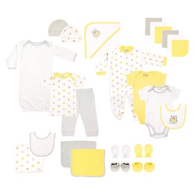 Luvable Friends Baby 24 Piece Gift Set - Owl