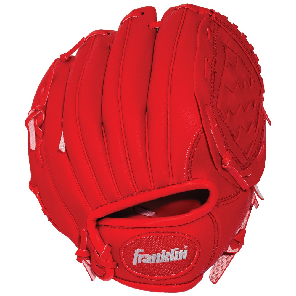 Franklin Sports 9 Rtp Teeball Glove with Ball - Red