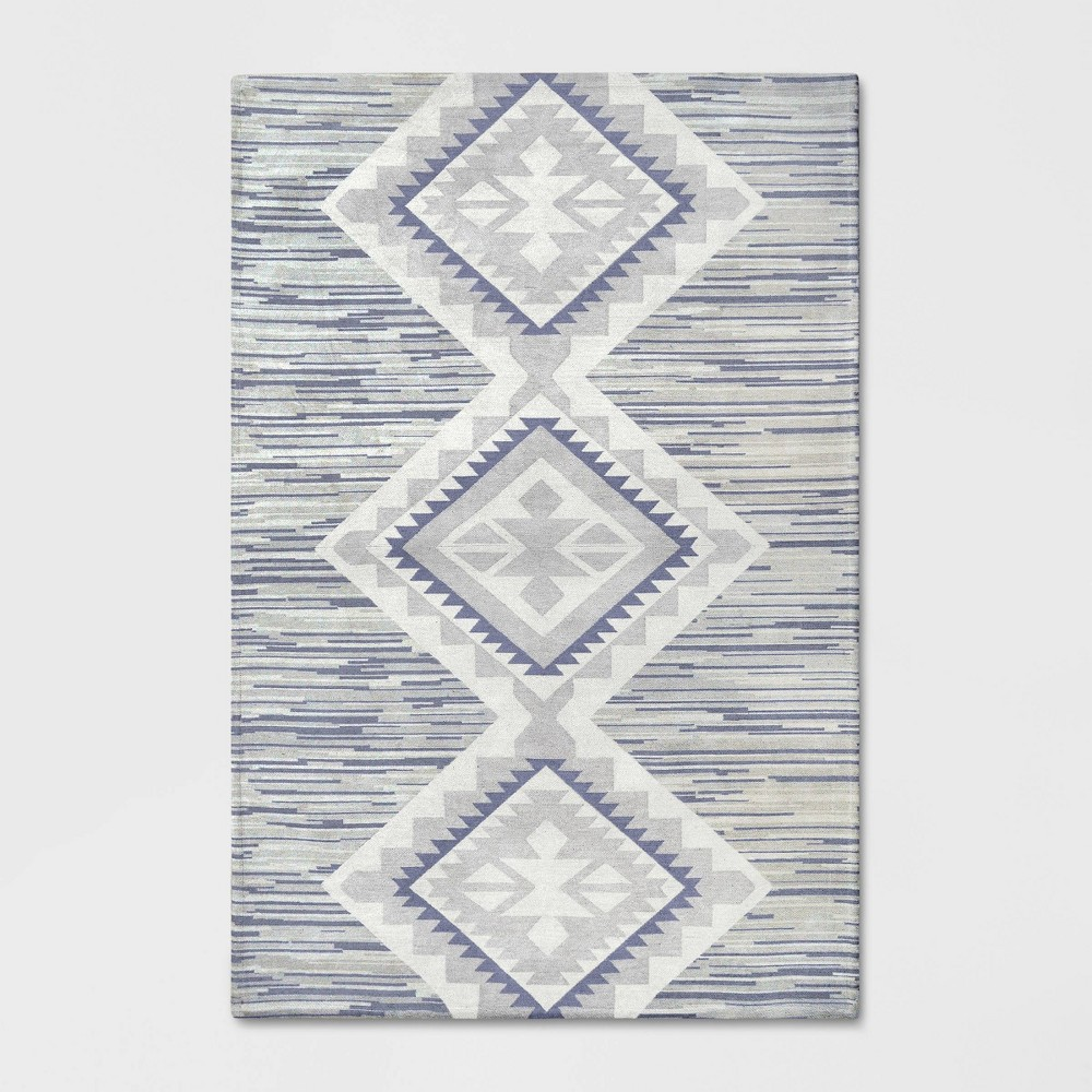 5'x7' Global Rug Gray - Pillowfort