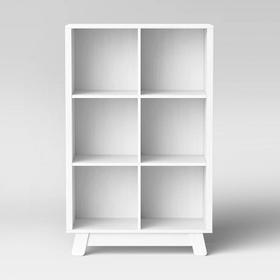 Babyletto Hudson Cubby Bookcase - White