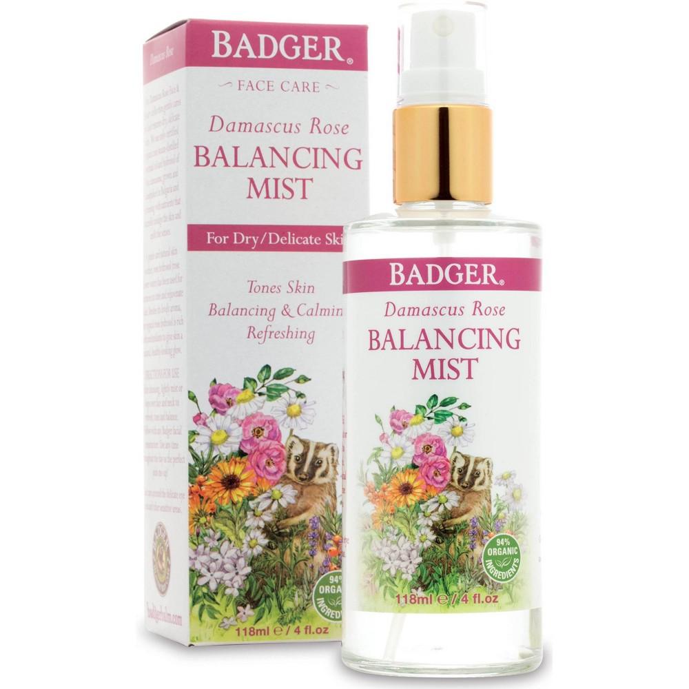 Image of Badger Damascus Rose Balancing Mist - 4 fl oz