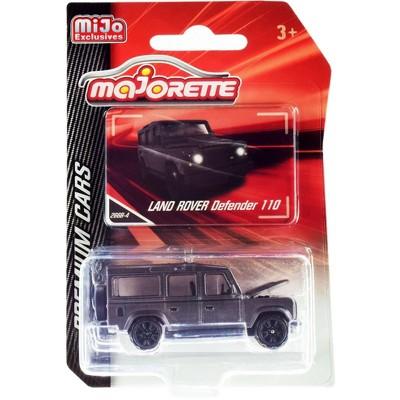 "Land Rover Defender 110 Matt Gray ""Premium Cars"" 1/60 Diecast Model Car by Majorette"