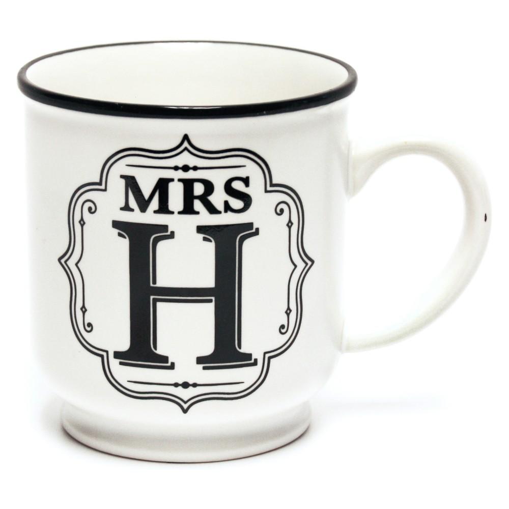 'Mrs. F' Mug - History & Heraldry, White
