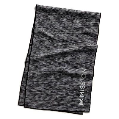 HydroActive Premium Towel - Charcoal Spacedye Large