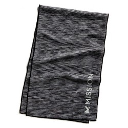 HydroActive Premium Towel - Charcoal Spacedye Large