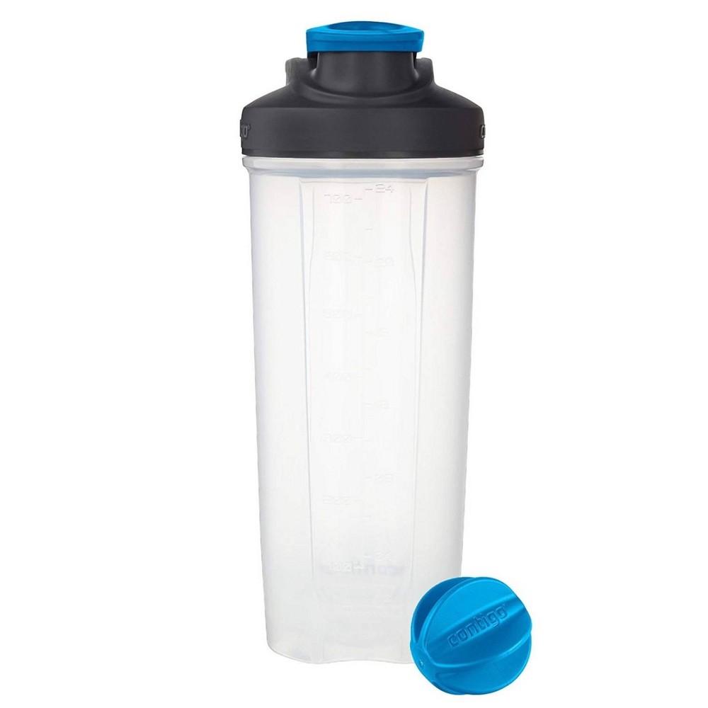 Image of Contigo 28oz Shake & Go Fit Shaker Bottle Carolina Blue
