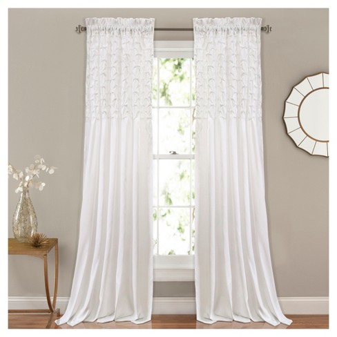 "Bayview Window Curtain Set (84""x54"") - Lush Décor - image 1 of 1"