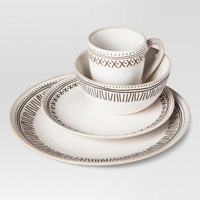 Akindra Stoneware 16-pc Dinnerware Set - Threshold™