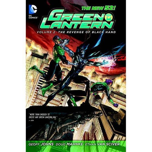 Green Lantern Vol. 2: The Revenge of Black Hand (the New 52) - 52 Edition by  Geoff Johns (Paperback) - image 1 of 1
