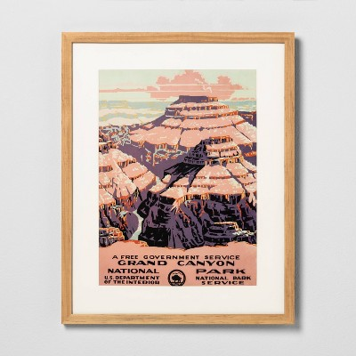 16  x 20  Grand Canyon Framed Wall Art - Hearth & Hand™ with Magnolia
