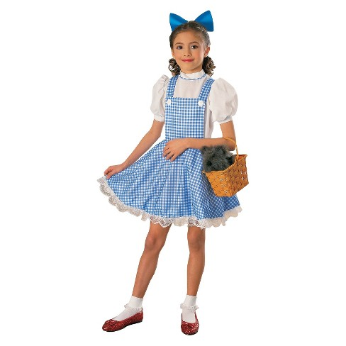 Halloween Costumes For Girls Age 11 12.The Wizard Of Oz Girls Deluxe Dorothy Costume Large 12 14