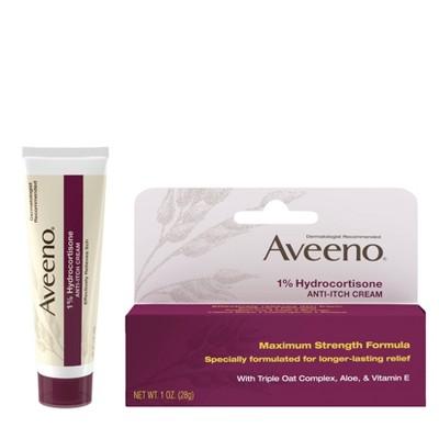 Aveeno Active Naturals Anti-itch Cream - 1oz