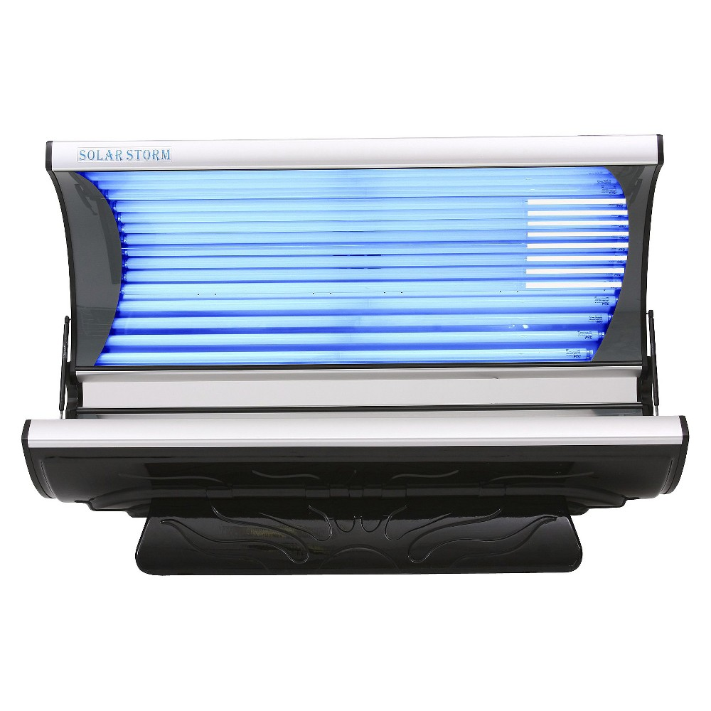 Wolff Systems Solar Storm 24S 110V Tanning Bed with Face Lamps