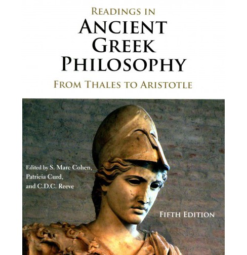 Readings in Ancient Greek Philosophy : From Thales to Aristotle (Paperback) - image 1 of 1