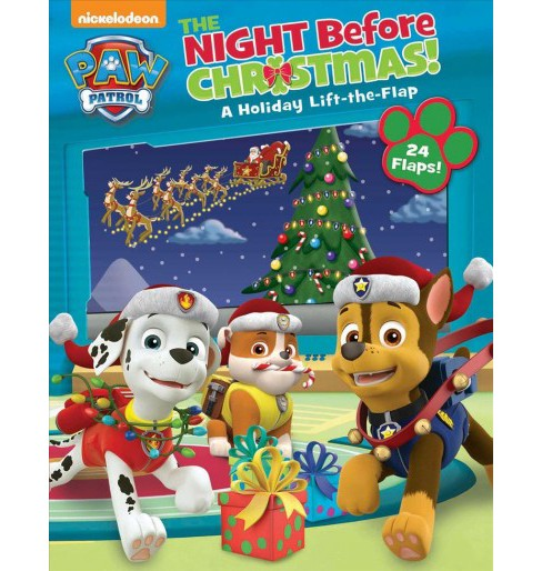 Night Before Christmas -  (Paw Patrol) (Hardcover) - image 1 of 1