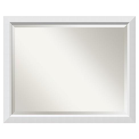 32 X 26 Blanco Wood Framed Wall, Mirror Framed Mirror Target