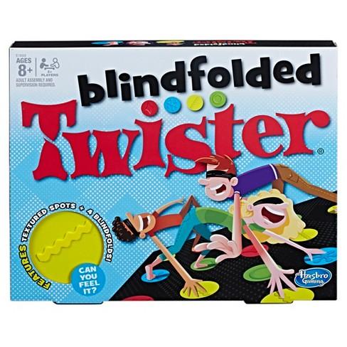 blindfolded twister game target