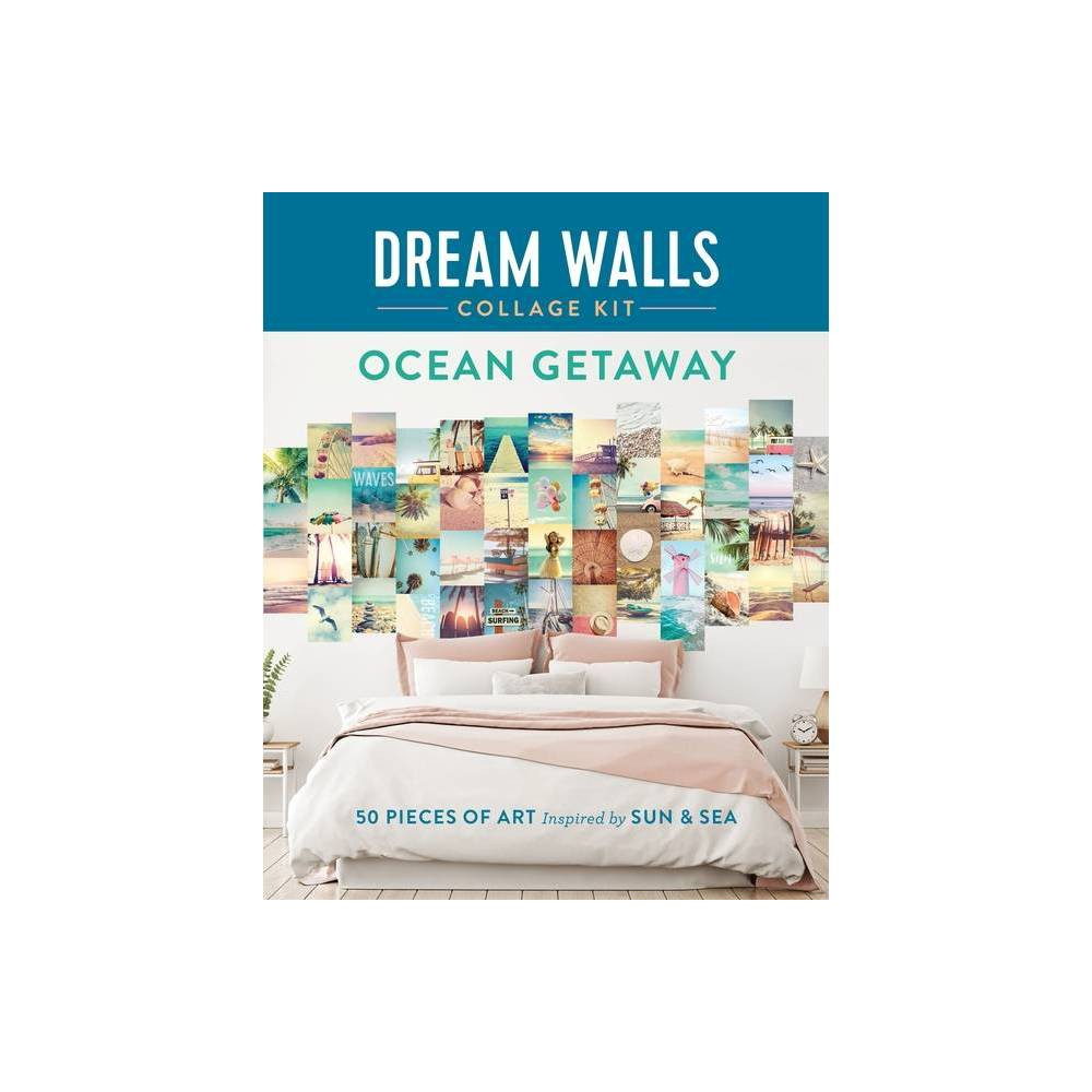 Dream Walls Collage Kit Ocean Getaway By Chloe Standish Paperback