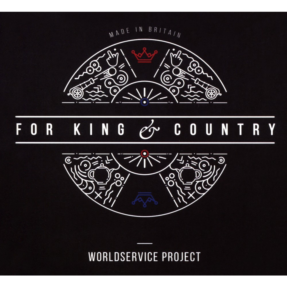 Worldservice Project - For King & Country (CD)