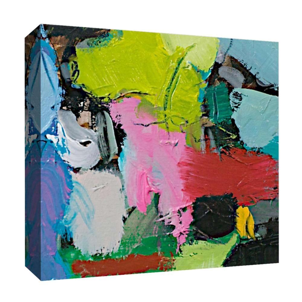 Color Party I Decorative Canvas Wall Art 16