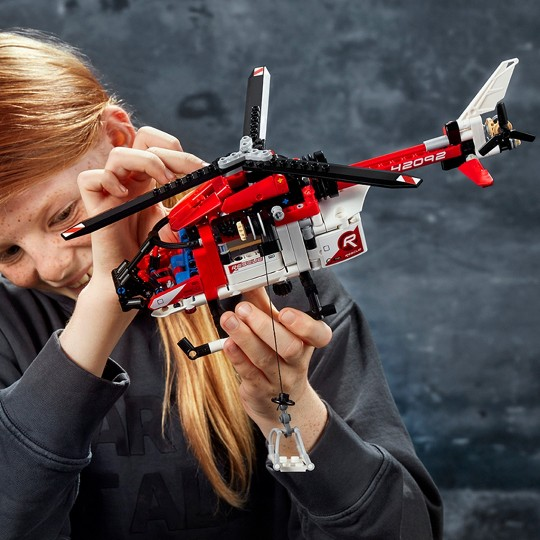 LEGO Technic Rescue Helicopter 42092 image number null