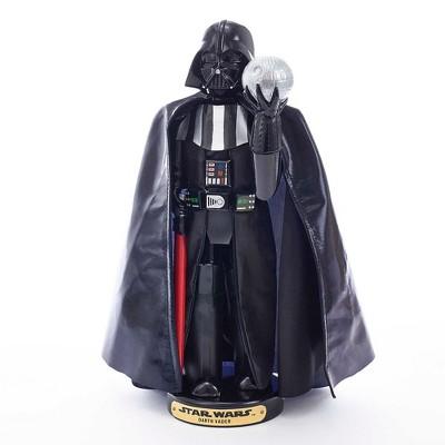 10-Inch Renewed Kurt Adler Darth Vader with Death Star Nutcracker