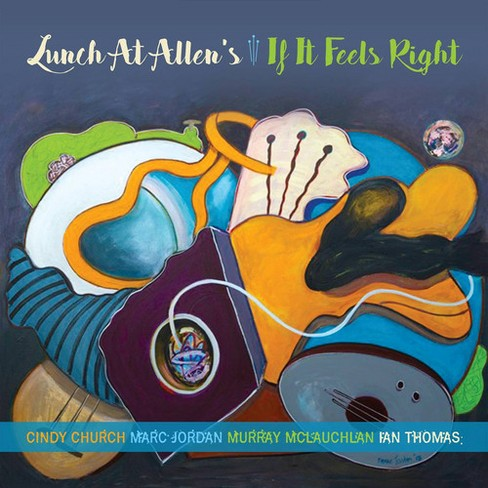 Lunch At Allen's - If It Feels Right (CD) - image 1 of 1