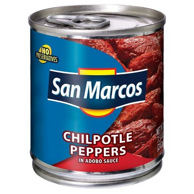 San Marcos Chipotle Peppers - 7.5oz
